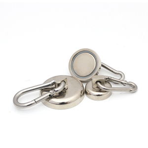 CustomizedCarabiner-rotation neodymium hook magnet