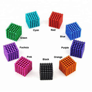 Colorful 216 Pcs D5mm Magnetic Ball