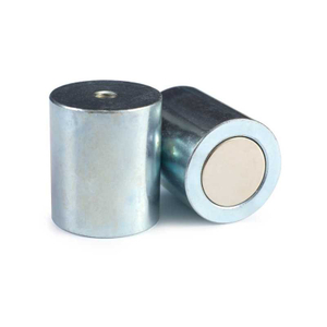 Neodymium pot magnet rod