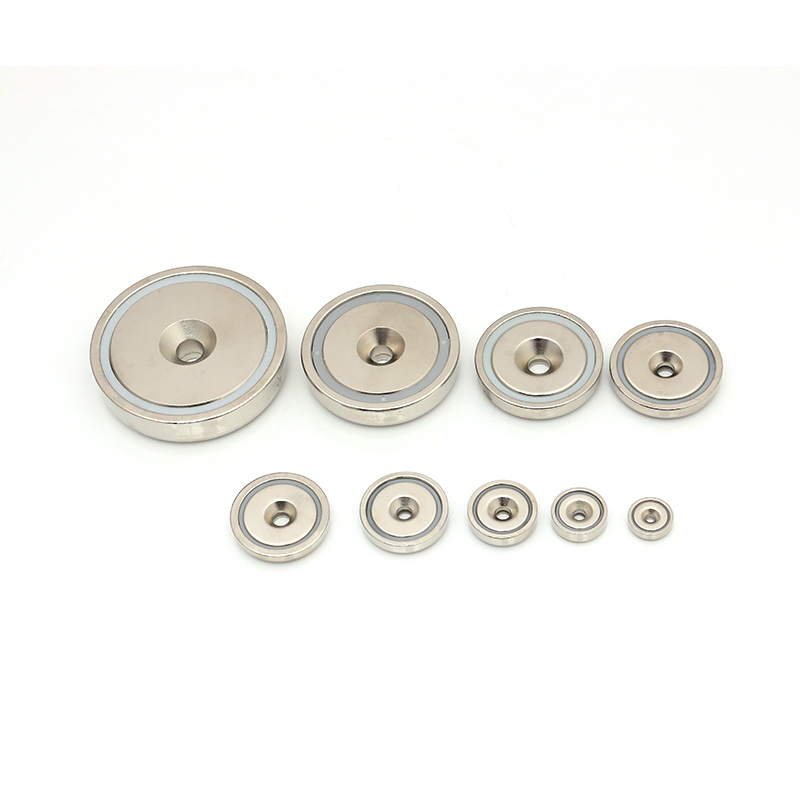 Counter bore Neodymium pot magnet
